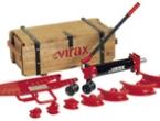 """Гидравлический ручной трубогиб с закрытой рамой до 2"""" VIRAX"""