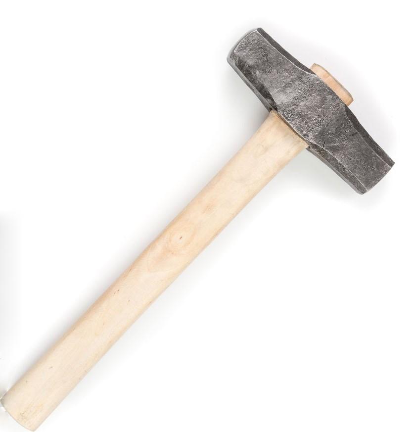 Молоток кузнечный кованый малый, вес 1-1,2 кг