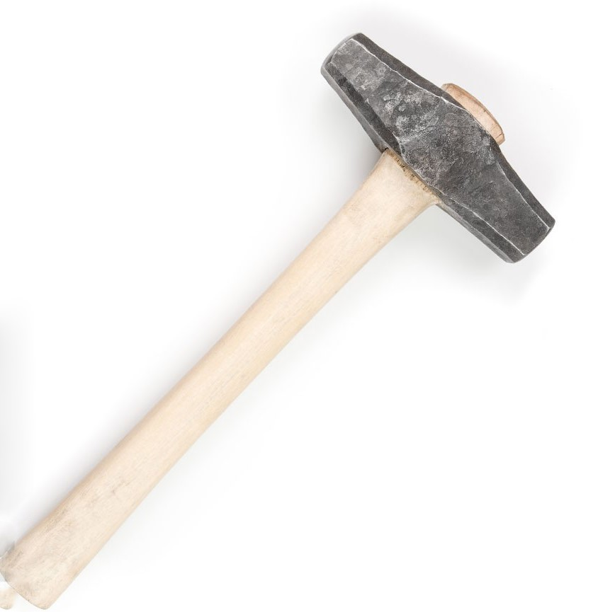 Молоток кузнечный кованый средний, вес 1,5-1,6 кг