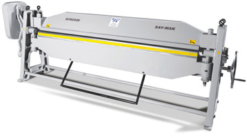 Ручной листогибочный станок SAY-MAK серии SCM