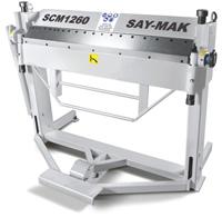 Ручные листогибочные сегментированные станки серия SCM (BOX-PAN)