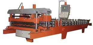 Автоматическая линия металлочерепицы «Монтеррей» АЛЕ -1100