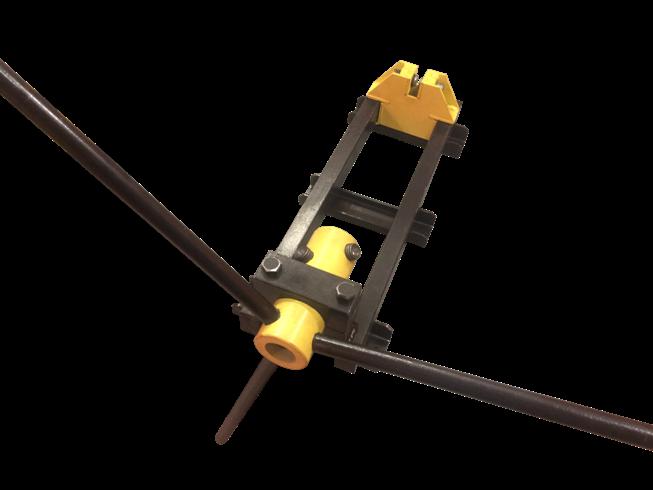 Ручной кузнечный инструмент для продольного «Твистер Сила»