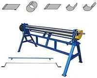 Вальцы для производства водостоков MetalMaster MLR с воротком для желобов MLB