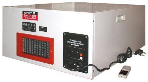 Устройство  для фильтрации воздуха Корвет Эксперт-261